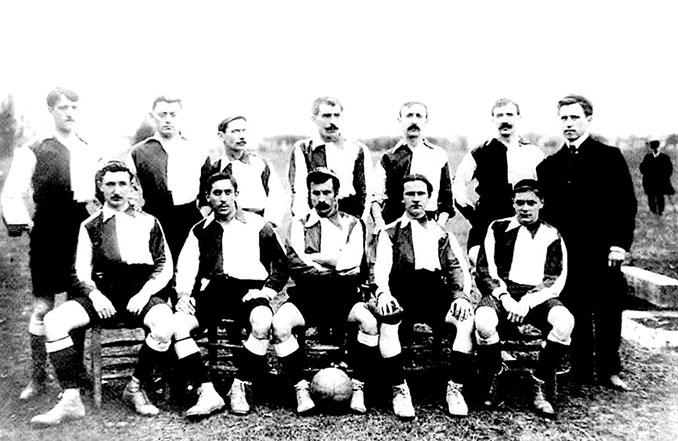 Entre 1902 y 1909 la camiseta del Athletic Club fue la misma que la del Blackburn Rovers - Odio Eterno Al Fútbol Moderno