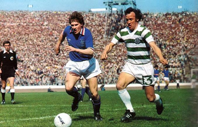 Old Firm disputado en la final de la Copa de Escocia de 1980 - Odio Eterno Al Fútbol Moderno