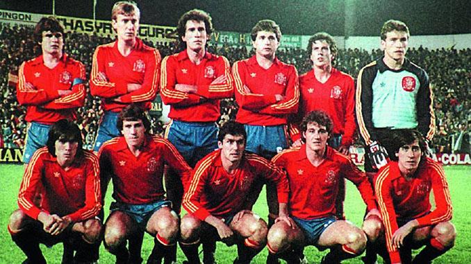 Once inicial de la selección española para el legendario partido ante Malta en 1983 - Odio Eterno Al Fútbol Moderno