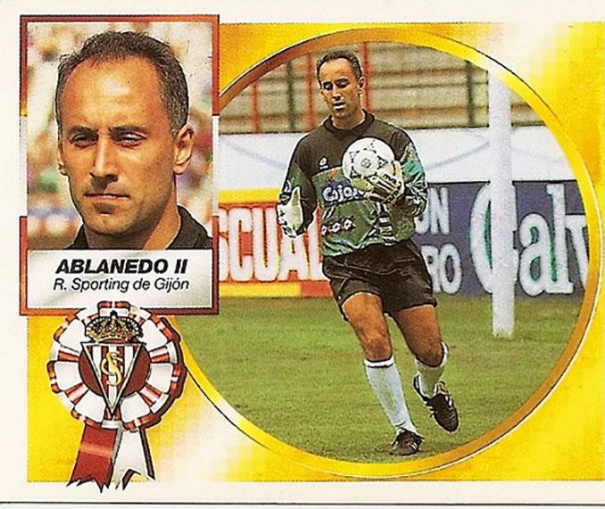 Cromo de Juan Carlos Ablanedo - Odio Eterno Al Fútbol Moderno