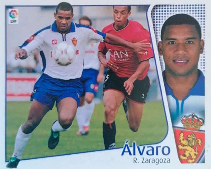 Cromo de Álvaro Luiz Maior - Odio Eterno Al Fútbol Moderno