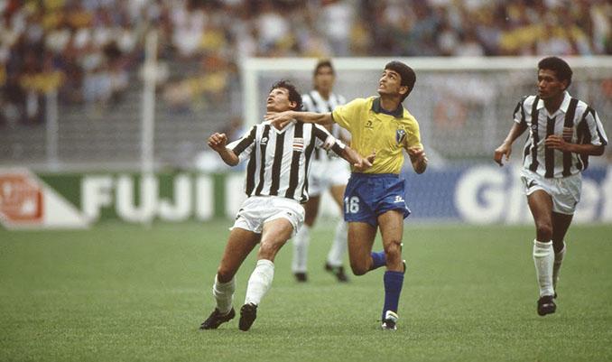 Brasil vs Costa Rica del Mundial de 1990 - Odio Eterno Al Fútbol Moderno