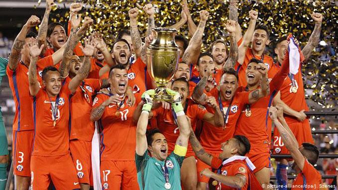 Chile conquistó la Copa América Centenario en 2016 - Odio Eterno Al Fútbol Moderno