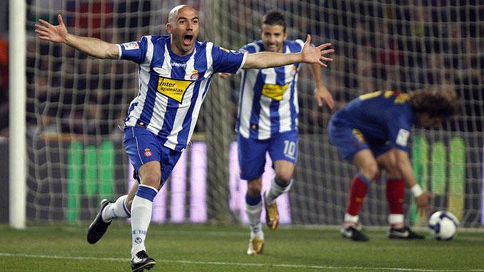 """De La Peña le marcó un """"doblete"""" al Barcelona en 2009 - Odio Eterno Al Fútbol Moderno"""