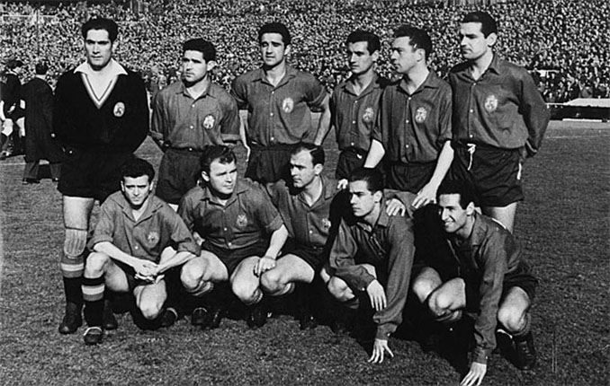 Selección española en 1959 - Odio Eterno Al Fútbol Moderno