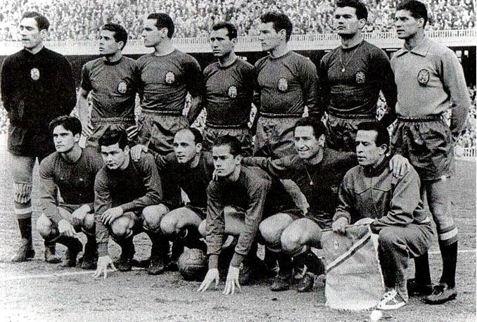 Selección española en 1960 - Odio Eterno Al Fútbol Moderno