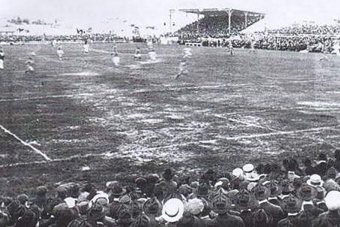 El Estadio Pocitos albergó el primer partido en la historia de la Copa del Mundo - Odio Eterno Al Fútbol Moderno
