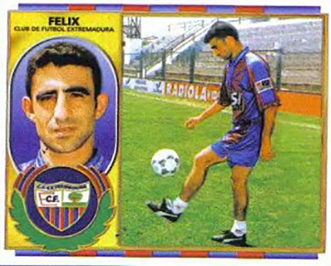 Cromo de Félix Carvallo - Odio Eterno Al Fútbol Moderno
