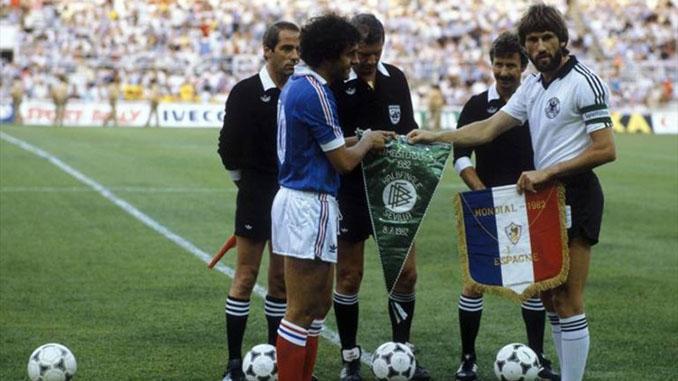 Prolegómenos del Francia vs Alemania disputado en las semifinales del Mundial de 1982 - Odio Eterno Al Fútbol Moderno