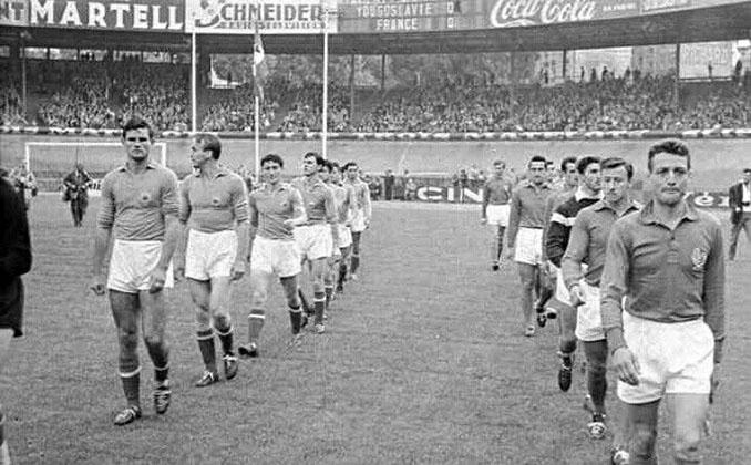 Francia vs Yugoslavia disputado en 1960 - Odio Eterno Al Fútbol Moderno