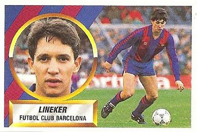 Cromo de Gary Lineker - Odio Eterno Al Fútbol Moderno