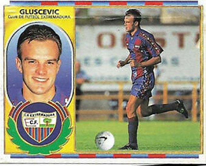 Cromo de Igor Gluscevic - Odio Eterno Al Fútbol Moderno