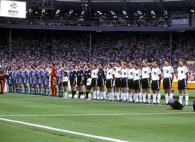 Inglaterra vs Alemania de la Eurocopa de 1996 - Odio Eterno Al Fútbol Moderno