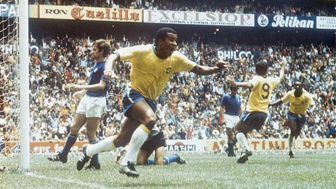 7 goles logró Jairzinho en el Mundial de 1970 - Odio Eterno Al Fútbol Moderno