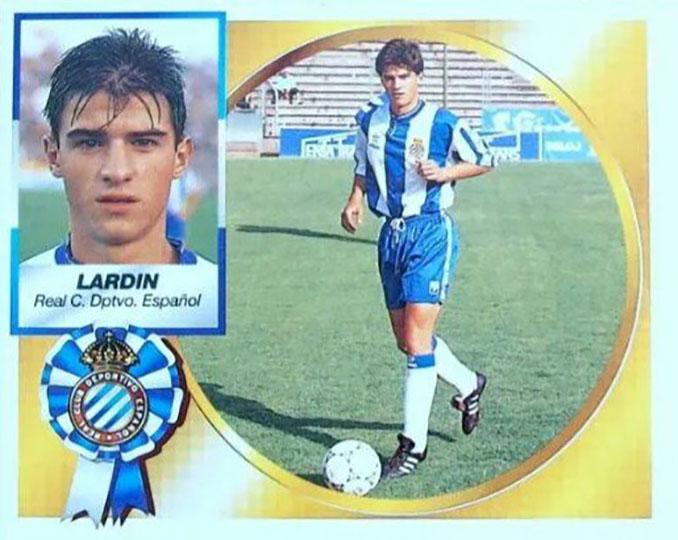Cromo de Jordi Lardín - Odio Eterno Al Fútbol Moderno