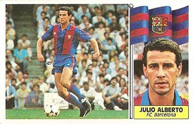 Cromo de Julio Alberto - Odio Eterno Al Fútbol Moderno