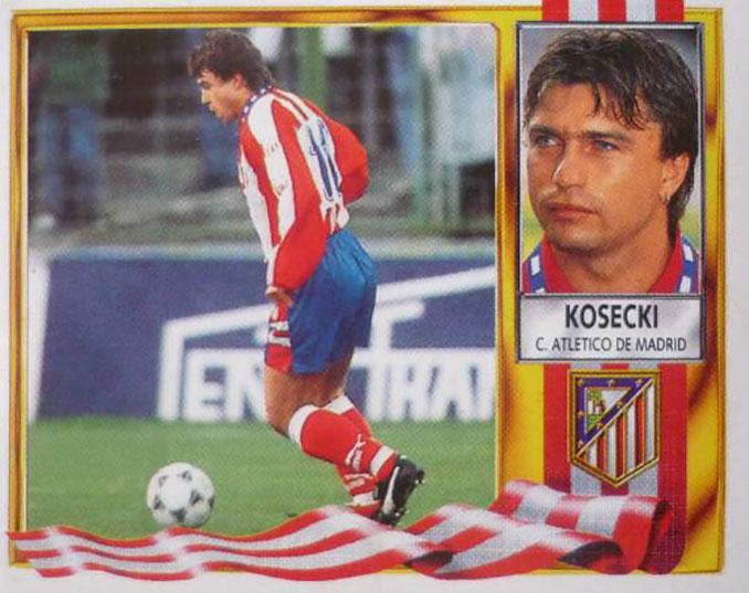 Cromo de Roman Kosecki - Odio Eterno Al Fútbol Moderno