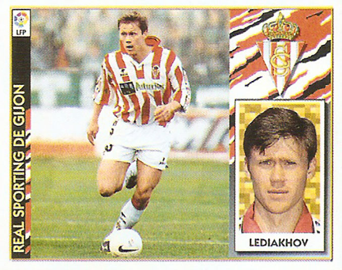 Cromo de Ígor Lediakhov - Odio Eterno Al Fútbol Moderno