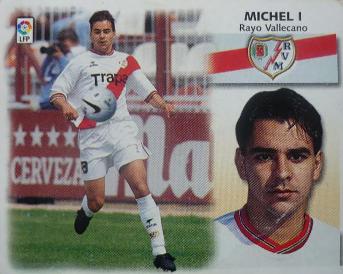 """Cromo de Miguel Ángel Sánchez """"Míchel"""" - Odio Eterno Al Fútbol Moderno"""