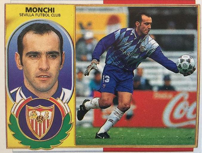 Cromo de Monchi - Odio Eterno Al Fútbol Moderno