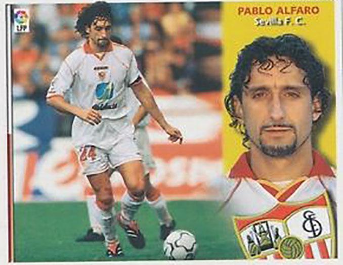Cromo de Pablo Alfaro - Odio Eterno Al Fútbol Moderno