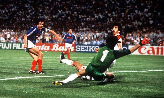 Platini decidió el espectacular Francia vs Portugal de la Eurocopa 1984 - Odio Eterno Al Fútbol Moderno