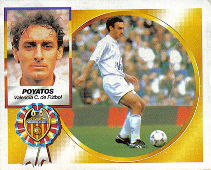 Cromo de Antonio Poyatos - Odio Eterno Al Fútbol Moderno