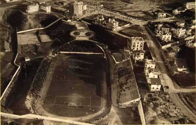 Stadium Metropolitano en 1927 - Odio Eterno Al Fútbol Moderno
