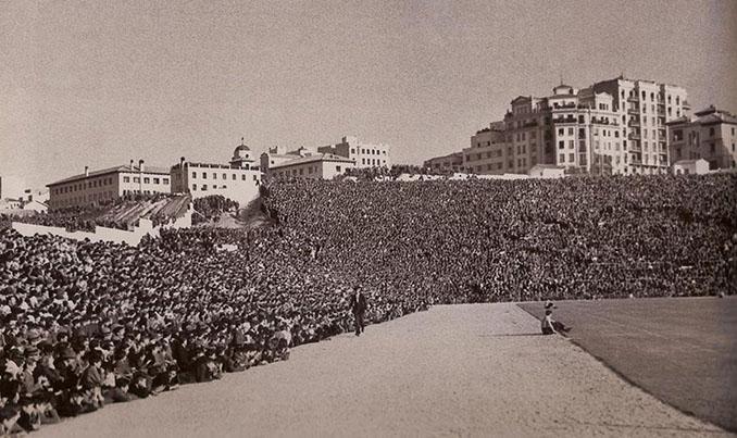 Stadium Metropolitano en la década de 1960 - Odio Eterno Al Fútbol Moderno