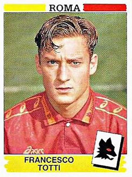 Cromo de Francesco Totti - Odio Eterno Al Fútbol Moderno
