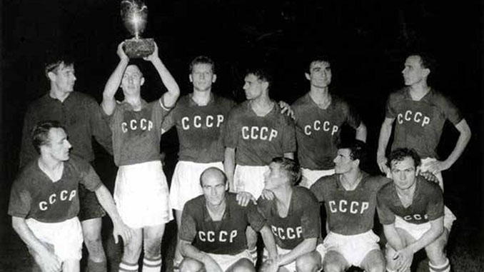 URSS campeona de la Eurocopa de 1960 - Odio Eterno Al Fútbol Moderno