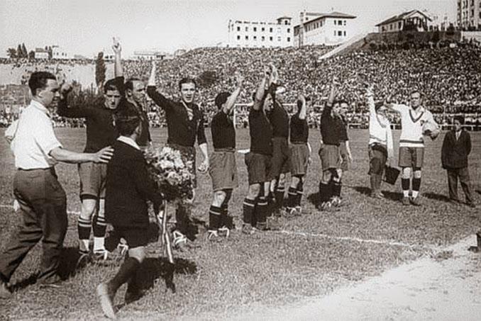 España jugó por primera vez ante Inglaterra en 1929 en el Stadium Metropolitano - Odio Eterno Al Fútbol Moderno