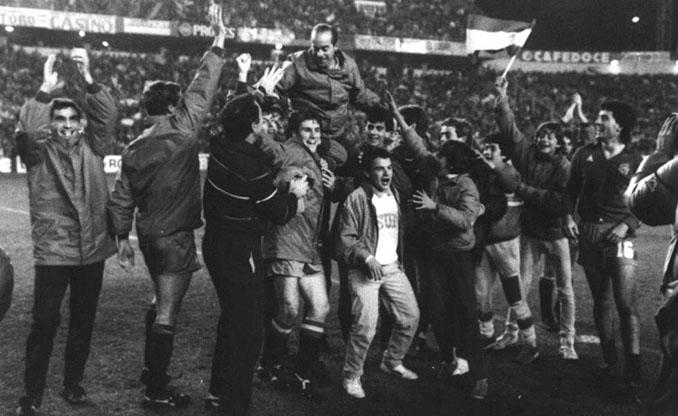 Celebración de la primera Eurocopa sub-21 conquistada por España - Odio Eterno Al Fútbol Moderno