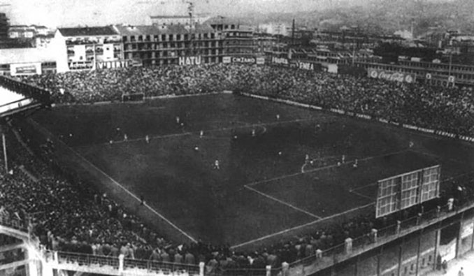 Stadio Filadelfia en la década de 1940 - Odio Eterno Al Fútbol Moderno