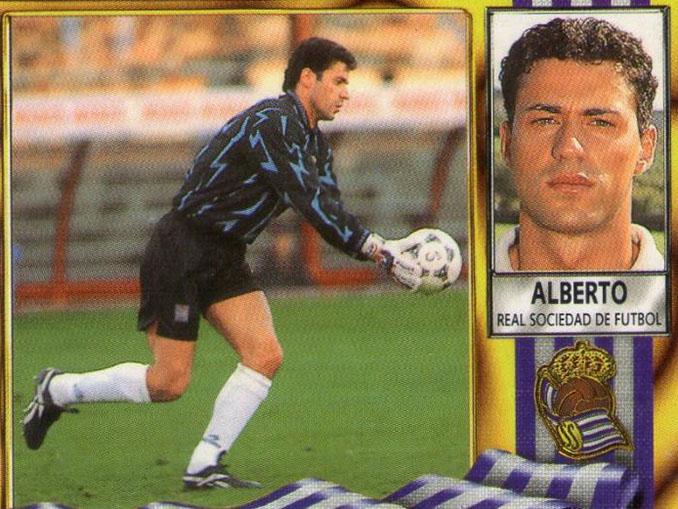 Cromo de Alberto López - Odio Eterno Al Fútbol Moderno