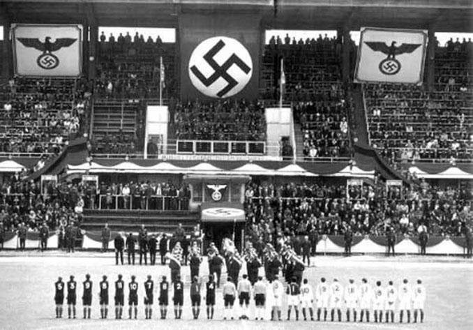 Alemania vs Austria disputado en 1938 - Odio Eterno Al Fútbol Moderno
