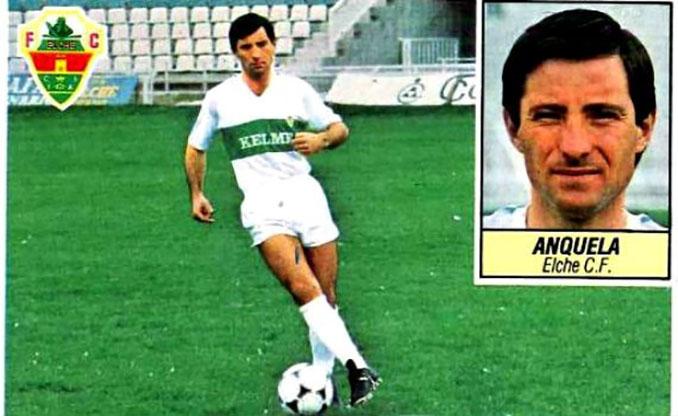 Cromo de Juan Antonio Anquela - Odio Eterno Al Fútbol Moderno