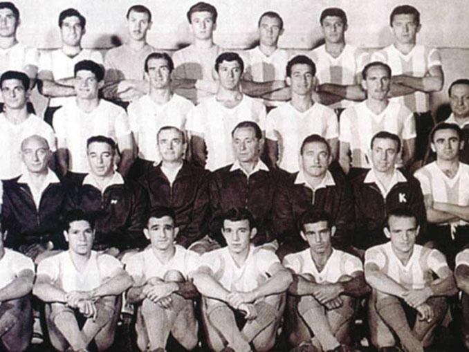 Argentina campeona de la Copa América de 1959 - Odio Eterno Al Fútbol Moderno