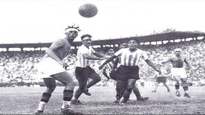 Argentina vs Brasil disputado en la década de 1940 - Odio Eterno Al Fútbol Moderno