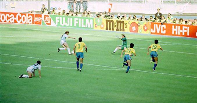 Caniggia marcó el único gol del Argentina vs Brasil del Mundial 1990 - Odio Eterno Al Fútbol Moderno