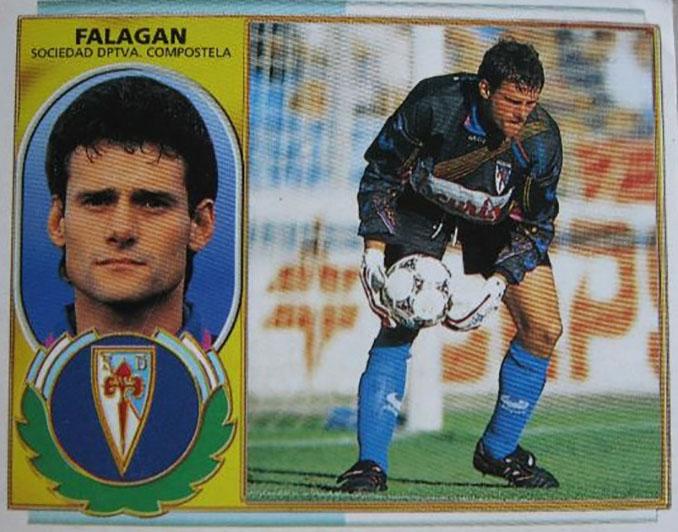 Cromo de Francisco Javier Falagán - Odio Eterno Al Fútbol Moderno