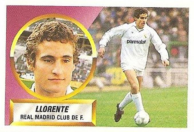 Cromo de Paco Llorente - Odio Eterno Al Fútbol Moderno