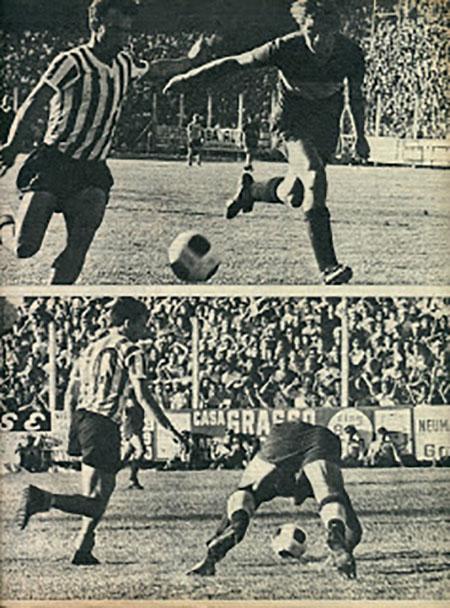 Gol de Echecopar a Boca Juniors en el Torneo Metropolitano de 1967 - Odio Eterno Al Fútbol Moderno