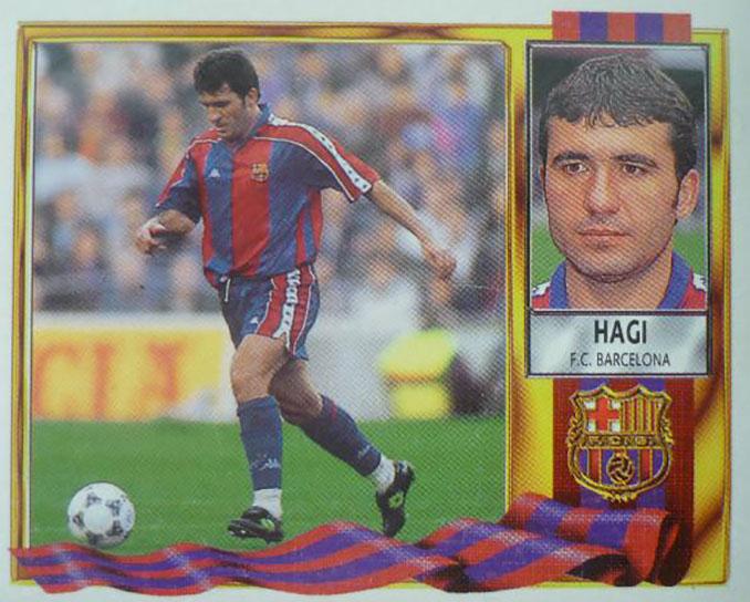 "Cromo de ""Gica"" Hagi - Odio Eterno Al Fútbol Moderno"