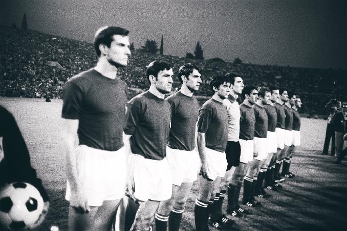 Italia ganó su primera Eurocopa en 1968 - Odio Eterno Al Fútbol Moderno
