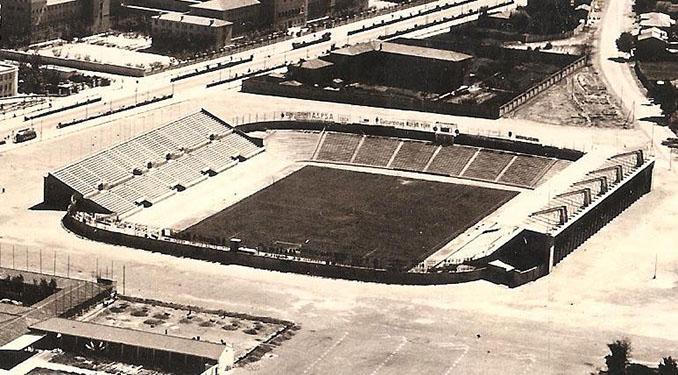 La Romareda en 1957 - Odio Eterno Al Fútbol Moderno