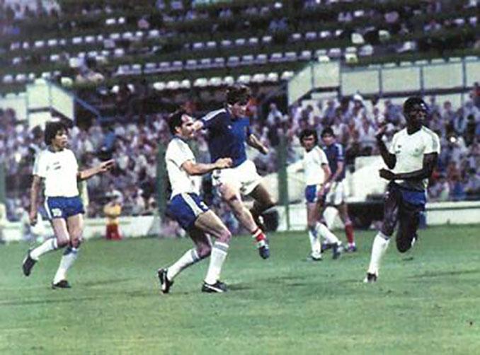 Partido de la Copa del Mundo de 1982 disputado en La Romareda - Odio Eterno Al Fútbol Moderno