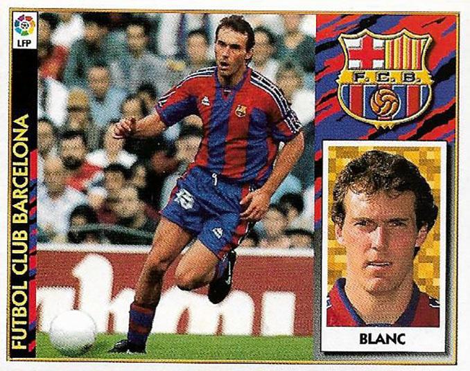 Cromo de Laurent Blanc - Odio Eterno Al Fútbol Moderno