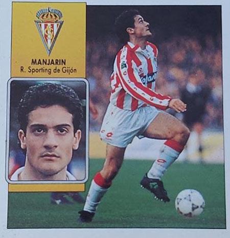 Cromo de Javier Manjarín - Odio Eterno Al Fútbol Moderno