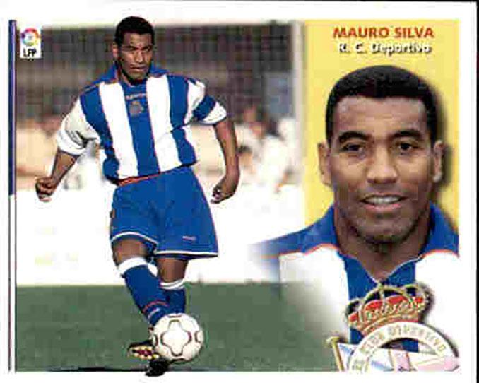 Cromo de Mauro Silva - Odio Eterno Al Fútbol Moderno